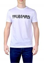 Trussardi Pánské triko T-Shirt Pure Cotton Regular Fit 52T00322-W001 XXL